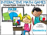 Interactive Math Games Geometry