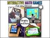 Interactive Math Games Graphs and Data