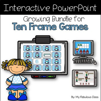 Interactive Math Games Growing Bundle