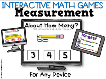 Interactive Math Games Measurement