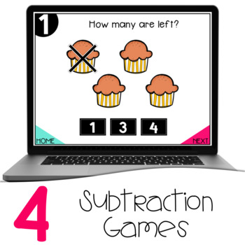 Interactive Math Games - Subtraction