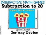 Interactive Math Games Subtraction to 20