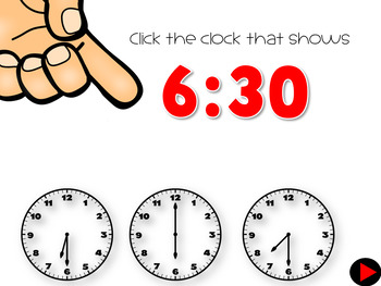 Interactive Math Games Telling Time
