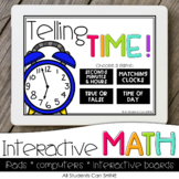 Interactive Math Games - Time