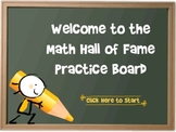 Interactive Math Hall of Fame Activity
