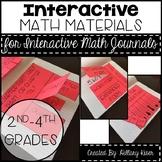 Interactive Math Journal Materials