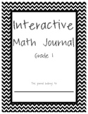 Interactive Math Journal - 1st Grade - Covers all CCSS