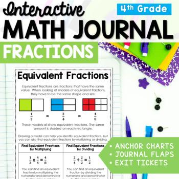 Fractions Interactive Math Journal