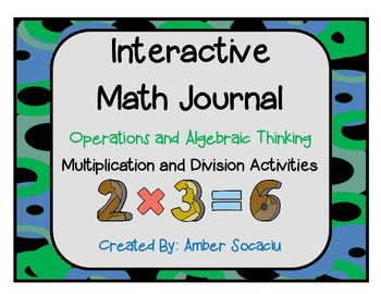 Interactive Math Journal Add-Ons for Operations and Algebraic Thinking