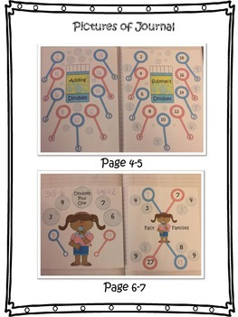 Interactive Math Notebook: Addition and Subtraction Strategies
