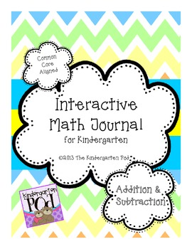 Interactive Math Journal - Addition & Subtraction