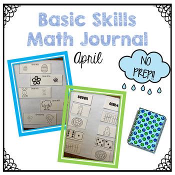Interactive Math Journal April
