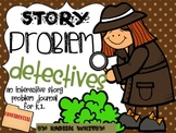 Interactive Math Journal-(Common Core) Story Problem Focus(  K-2) and more.