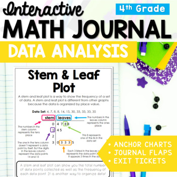 Data Analysis Interactive Math Journal