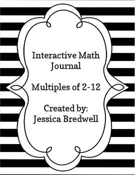Interactive Math Journal Flaps Multiples 2-12