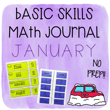 Interactive Math Journal January
