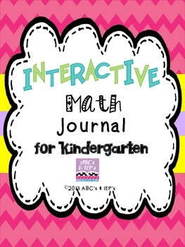 Interactive Math Journal ~ Kindergarten
