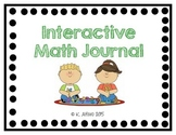 Interactive Math Journal - No Prep (GoMath-1st Grade) Chapter 1-3