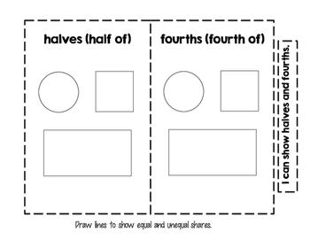 Interactive Math Journal - No Prep (GoMath-1st Grade) Chapter 10-12