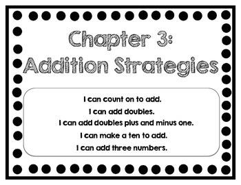 Interactive Math Journal - No Prep (GoMath-1st Grade) Chapter 3