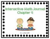 Interactive Math Journal - No Prep (GoMath-1st Grade) Chapter 4