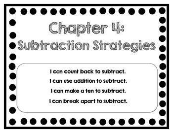 Interactive Math Journal - No Prep (GoMath-1st Grade) Chapter 4-6