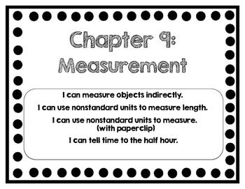 Interactive Math Journal - No Prep (GoMath-1st Grade) Chapter 7-9