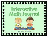 Interactive Math Journal - No Prep (GoMath-1st Grade) ENTI