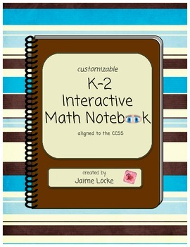 Interactive Math Journal (customizable)