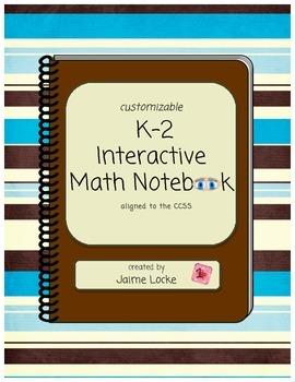 Interactive Math Journal (customizable)