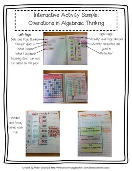 Interactive Math Journal for 3rd Grade MEGA Bundle - ALL STRANDS