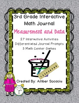 Interactive Math Journal for 3rd Grade Measurement and Data
