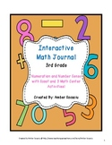 Interactive Math Journal for 3rd Grade - Numbers and Operations in Base 10