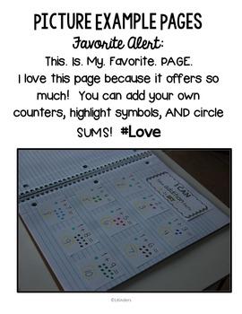 Kindergarten Computation and Base Ten: Interactive Math Journal