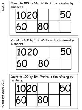 Interactive Math Journal for Kindergarten Common Core