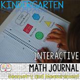 Kindergarten Geometry & Measurement: Interactive Math Journal