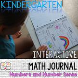 Kindergarten Number Sense, Interactive Math Journal