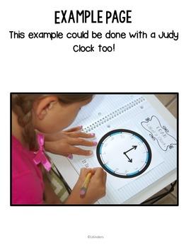 Kindergarten Sorting,Patterns, Time, Money: Interactive Math Journal