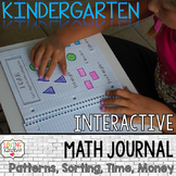 Kindergarten Sorting,Patterns, Time, Money: Interactive Ma