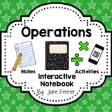 Interactive Math Journal for Operations