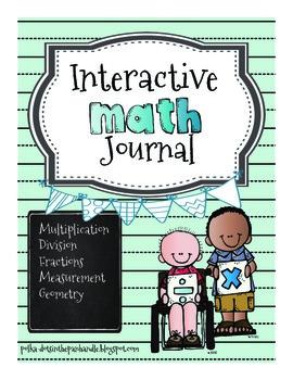 Interactive Math Journal for Third Grade