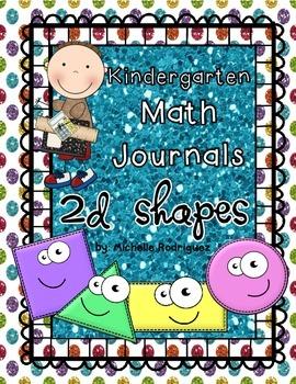 Interactive Math Journals - 2D Shapes
