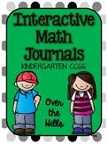Interactive Math Journals- {All Kindergarten CCSS included}