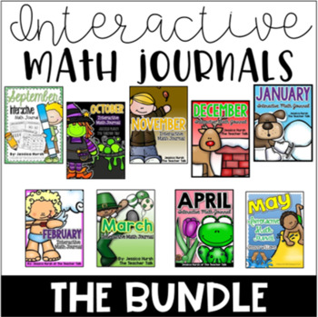 Interactive Math Journals - The Bundle