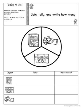 Interactive Math Journals for Kindergarten: June