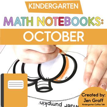 Kindergarten Interactive Math Journals for October