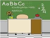 Interactive Math:  Kindergarten Math Addition