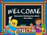 Interactive Math:  Kindergarten Math (How Many)