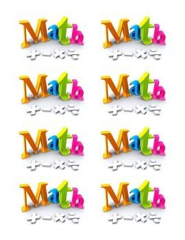 Interactive Math Labels