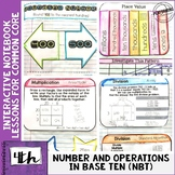Interactive Math Notebook 4th Grade Numbers & Operations i